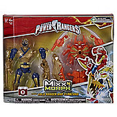 Power Rangers Mixx N Morph Gold Ranger and Clawzord