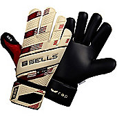Sells Wrap Excel 3 Junior Goalkeeper Gloves - White