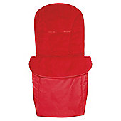 Claire De Lune Showersnugg Footmuff in Red