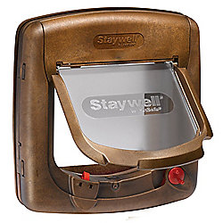 Staywell Cat Door 420 Magnetic Woodgrain