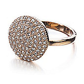Shimla Ladies Rose Gold Circular Ring - SH-221SM