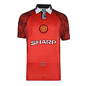 Manchester United 1998 Home Shirt Red L