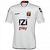 2013-14 Genoa Lotto Away Football Shirt - White