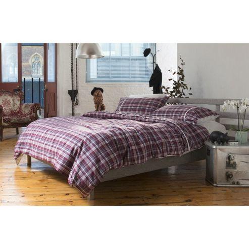 buy loft oscar check duvet cover set from our super king. Black Bedroom Furniture Sets. Home Design Ideas