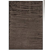 Angelo City Brown Woven Rug - 300cm x 200cm (9 ft 10 in x 6 ft 6.5 in)