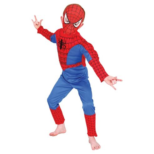 Rubies UK Deluxe Padded Chest Spiderman- M