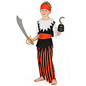 Toyrific Fancy Dress - Pirate Outfit (Medium)
