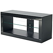 B-Tech High Gloss Black TV Stand For Up To 50 inch