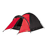 Yellowstone 2 Man Peak Dome Tent with Porch Red