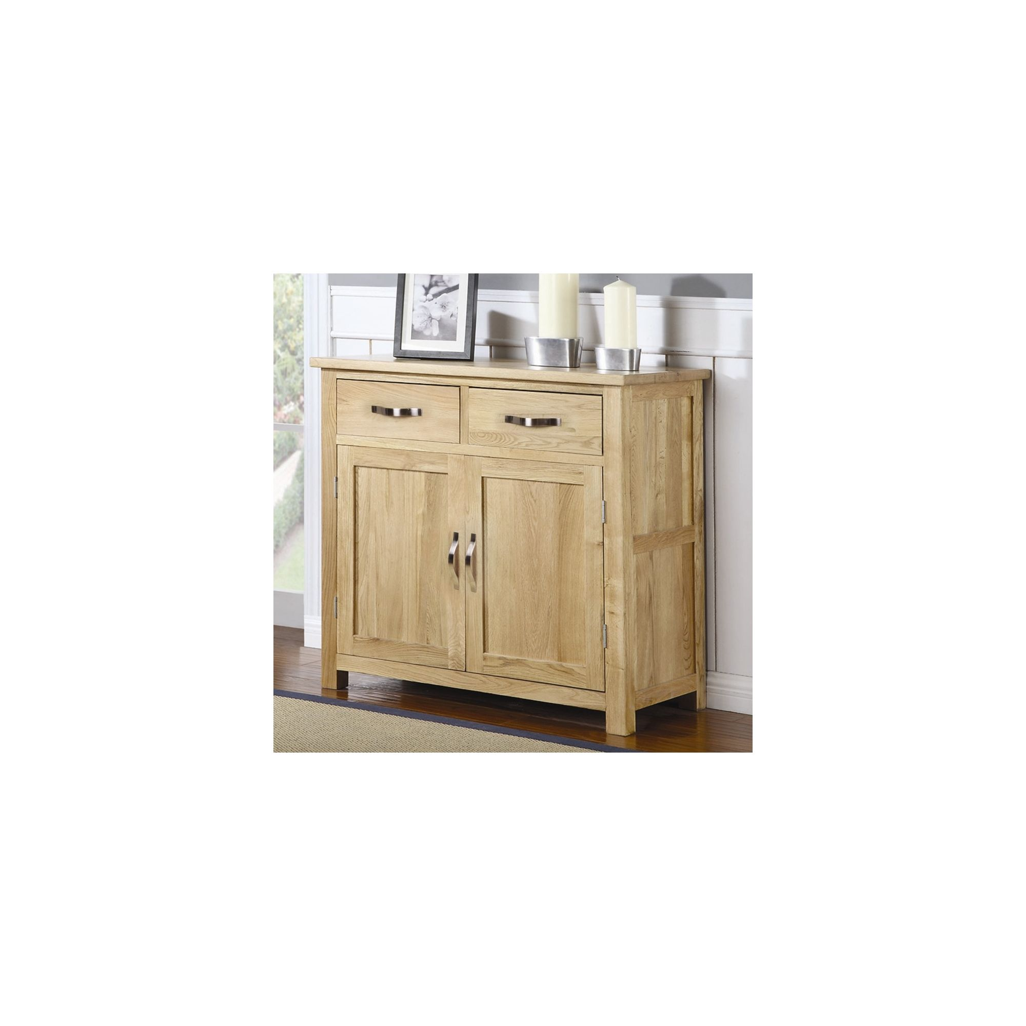 Shankar Enterprises Oaken Medium Sideboard at Tescos Direct