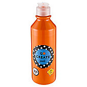 Go Create Ready Mixed Paint 300ml - Orange