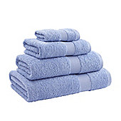 Catherine Lansfield Home Egyptian towel bath sheet, 90x140, blue