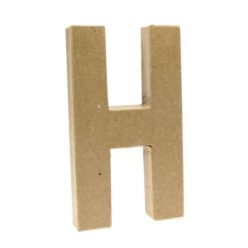 Large Kraft Letter - H