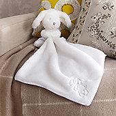 Izziwotnot White Gift Bunny Comforter