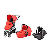 Baby Elegance Beep Twist Travel System - Red