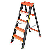 Trade 4 Tread All GRP Fibreglass Step Ladder