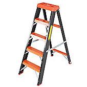 Trade 4 Tread All GRP Fibreglass Step Ladder