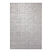 Esprit Madison White Rug - 133 cm x 200 cm (4 ft 4 in x 6 ft 7 in)