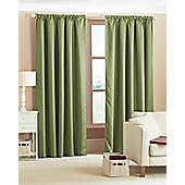 Diamond Woven Blackout Curtains - Green
