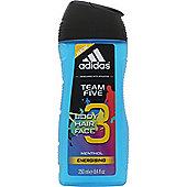 Adidas Team Five Shower Gel 200ml - Limited Edition