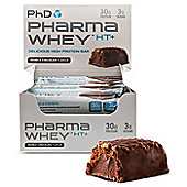 PhD Pharma Whey HT+ Bars - Double Chocolate
