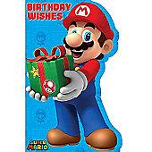 Super Mario Birthday Wishes Birthday Card