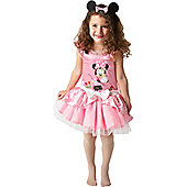 Minnie Mouse Pink Ballerina - Infant and Toddler Costume 2-3 years