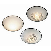 Home Essence Buque One Light Semi Flush Ceiling Light