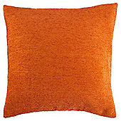 Texture Chenille Cushion Orange