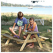 Kids Picnic Table. Seats 4-6 Children