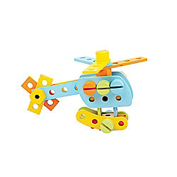Bigjigs Toys BJ849 Wooden Construction Set