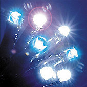 120 Blue & White LED Chaser Lights with Memory Function