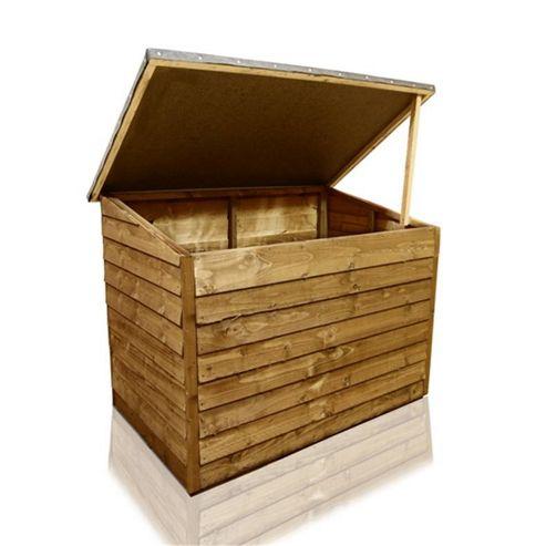 Buy Billyoh Overlap Storage Box From Our Garden Storage