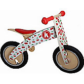 Kiddimoto Kurve Balance Bike (Cherry)