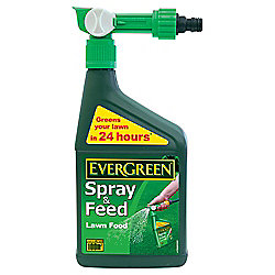 Evergreen Extreme Green Spray & Feed Lawn Food, 1L