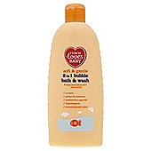 Tesco Loves Baby 2-in-1 Bubble Bath & Wash 500ml""