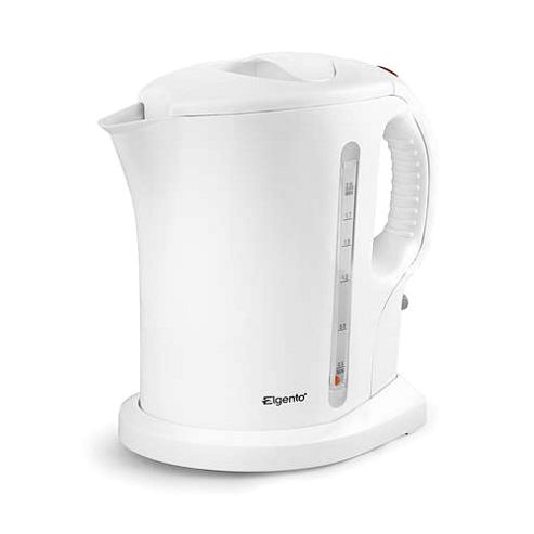 buy elgento e006 2200w electric kettle white from our. Black Bedroom Furniture Sets. Home Design Ideas