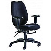Office Basics Cornwall High-Back Task Chair - Black