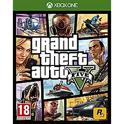 Grand Theft Auto V (Xbox One) with free copy of Whale Shark (Code)