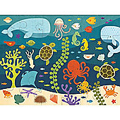 Petit Collage Ocean Life Floor Puzzle