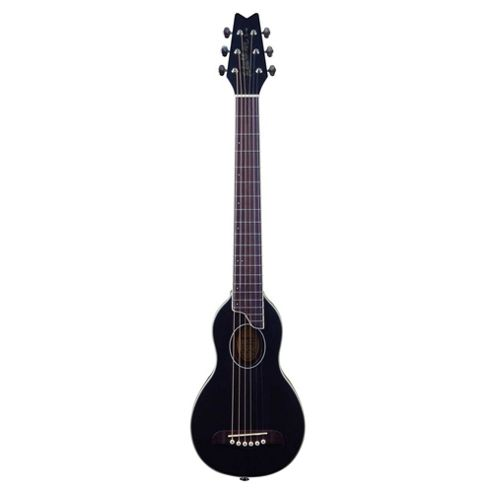 Washburn R010 Rover Travel Acoustic Guitar - Black