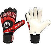 Uhlsport Eliminator Supersoft Bionik Goalkeeper Gloves - Red