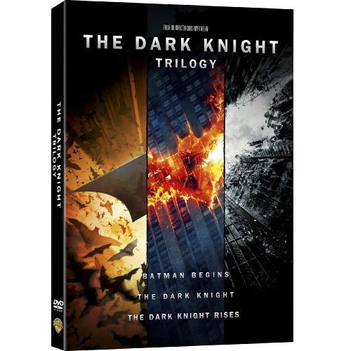 The Dark Knight Trilogy - Batman (DVD Boxset)