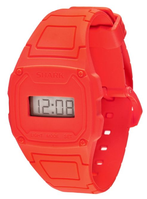 Shark Shark Slim Unisex Silicone Backlight, Date Watch 101142