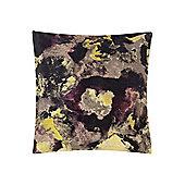 Pied A Terre Printed Velvet Cushion - Multi