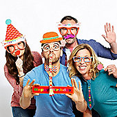 Pack of 13 Birthday Photo Booth Props