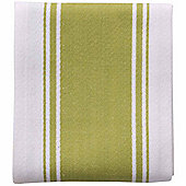 Now Designs Single Symmetry Tea Towel, Cactus Green