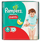 Pampers Baby Dry Pants Size 6 Carry 19