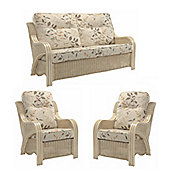 Desser Opera 3 Seater & 2 Chairs Set & Millwood Cushions