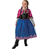 Child Disney Frozen Musical Light Up Anna Costume Medium